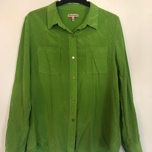 Juicy Couture Silk Blouse size M